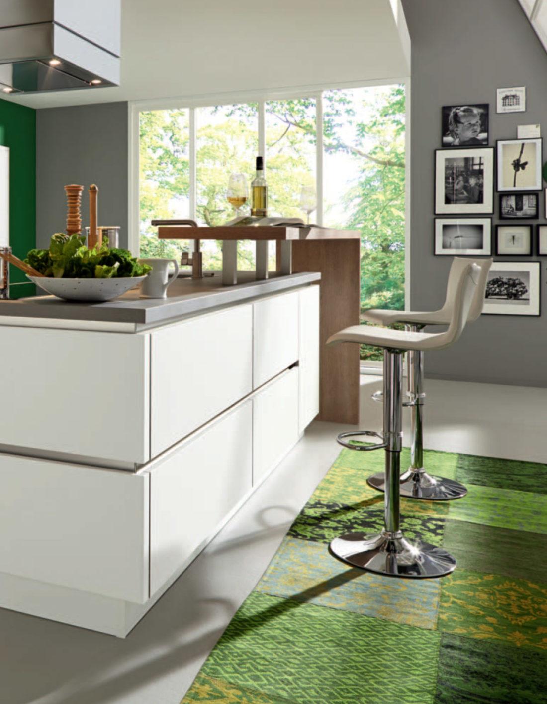 Cuisine Colorée et Innovante - ID Concept - Intérieurs Privés